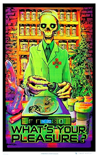 Poster What's Your Pleasure - Medical Marijuana Pot Dispensary 47 x 32in by Poster