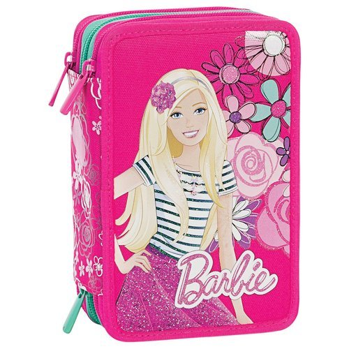 Barbie - Astuccio Scuola, Rosa