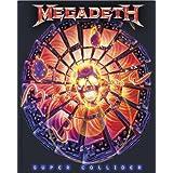 Licenses Products Megadeth Super Collider Sticker
