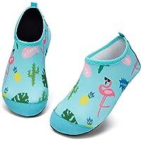Kyopp Zapatos de Agua para Niños Secado Rápido Chicos Zapatillas Acuáticas Antideslizantes para niños para Piscina de…