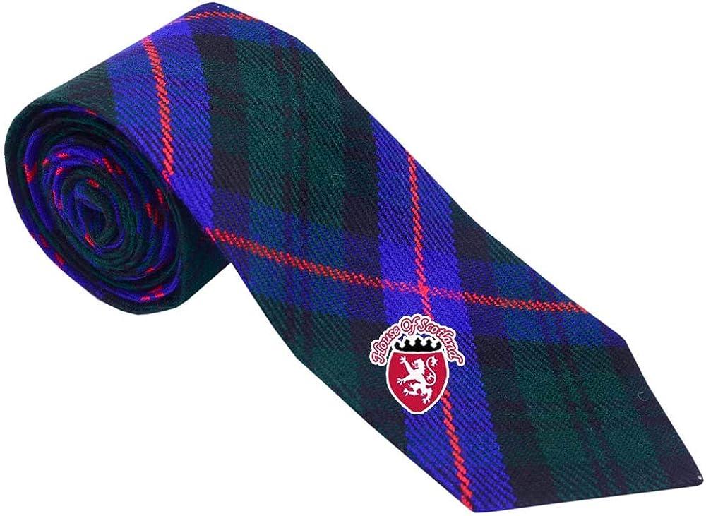 Men/'s Clan Scottish Neck Ties For Kilt Weathered Mackenzie Tartan Acrylic Wool