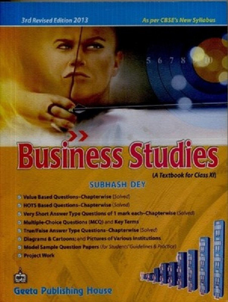 Buy Business Studies A Textbook For Class Xi Book Online At Low