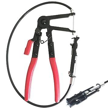 Alicates flexibles de abrazadera de manguera tipo cable de 24