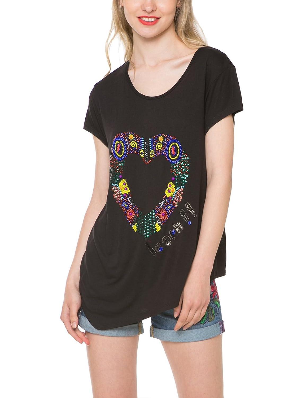 Desigual Damen T-Shirt Eudora