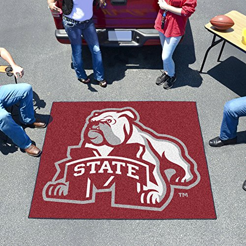 Huge NCAA Mississippi State Bulldogs Indoor/Outdoor Tailgater Floor Mat 72""