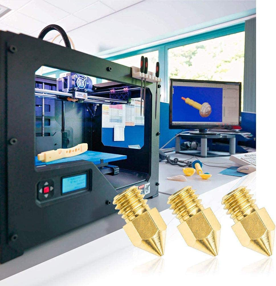 MezoJaoie 30PCS / Set Boquillas de impresora 3D MK8 Boquillas de ...