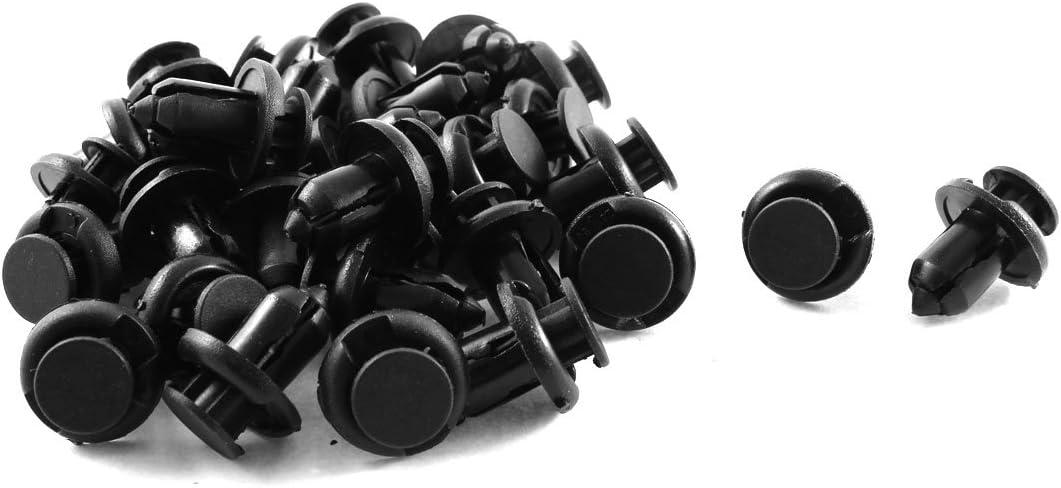 30 Pcs Plastic Splash Guard Clips 10mmx18mmx19mm