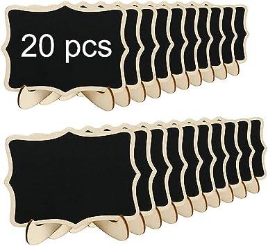 Amazon.com: Mini pizarra, 20 unidades, pizarras pequeñas ...