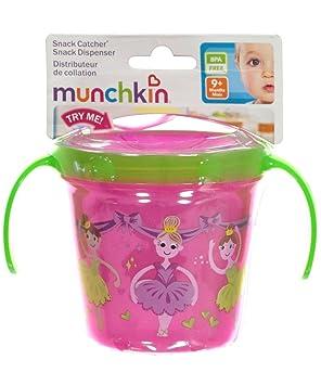 Munchkin DECO SNACK CATCHER pink girls: Amazon.co.uk: Toys & Games