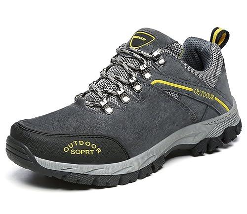 Minetom Unisexo Primavera Verano Zapatillas de Senderismo Mujer Hombre Zapatos de Deporte Impermeables Zapatos de Cordones: Amazon.es: Zapatos y ...