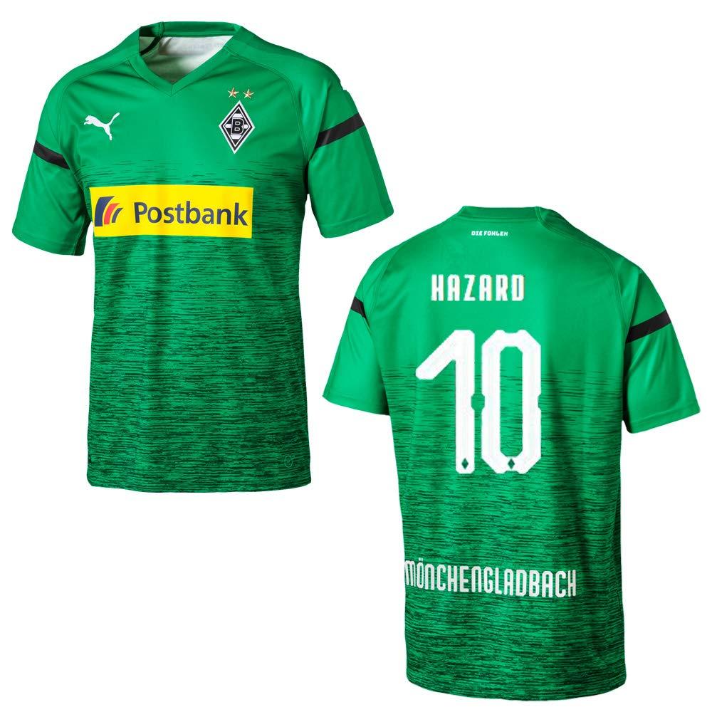 Puma BMG Borussia MÖNCHENGLADBACH Trikot 3rd Kinder 2018 2019 - Hazard 10