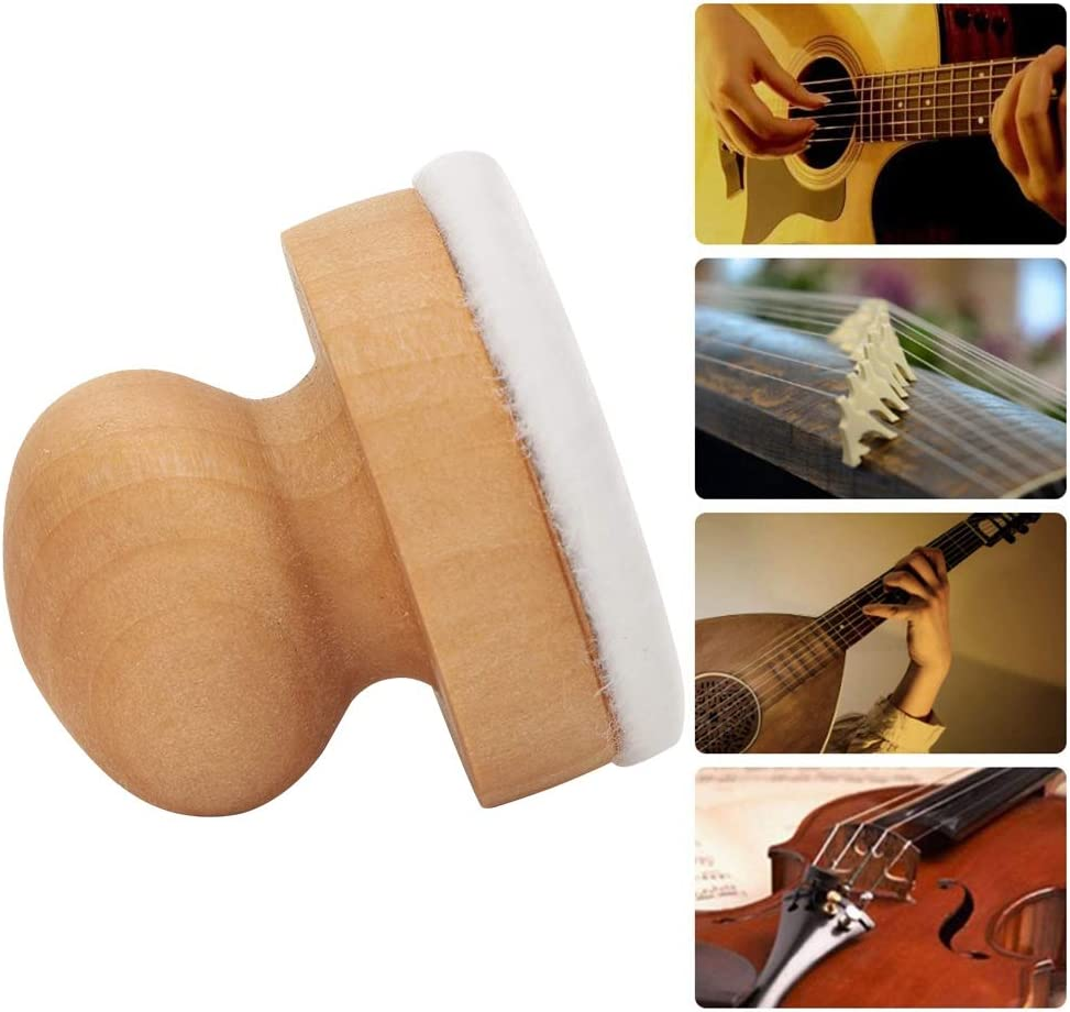 String Cleaner 03 String Instrument Cleaner Portable Music Instrument Accessories Wood Material for strings