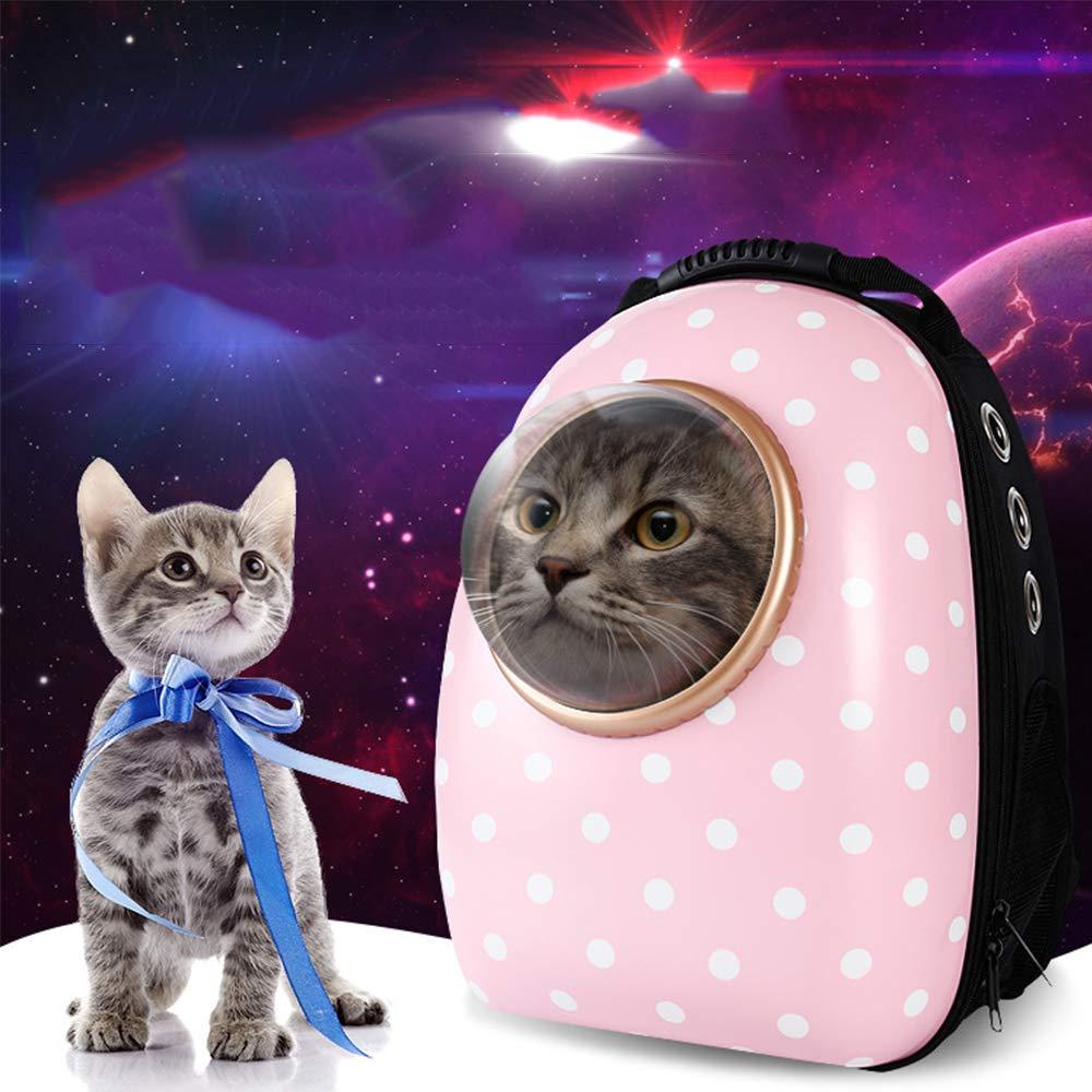 COL PETTI Pet Space cápsula Mochila, hacia Fuera llevando ...
