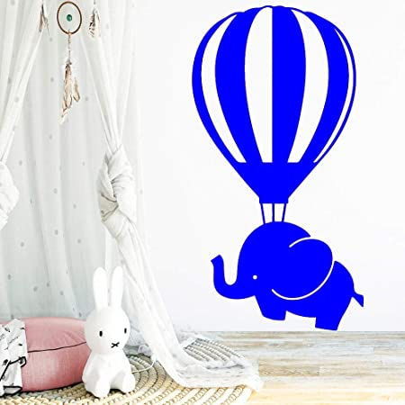 zhuziji Colorido Elefante Globo aerostático Etiqueta de la ...
