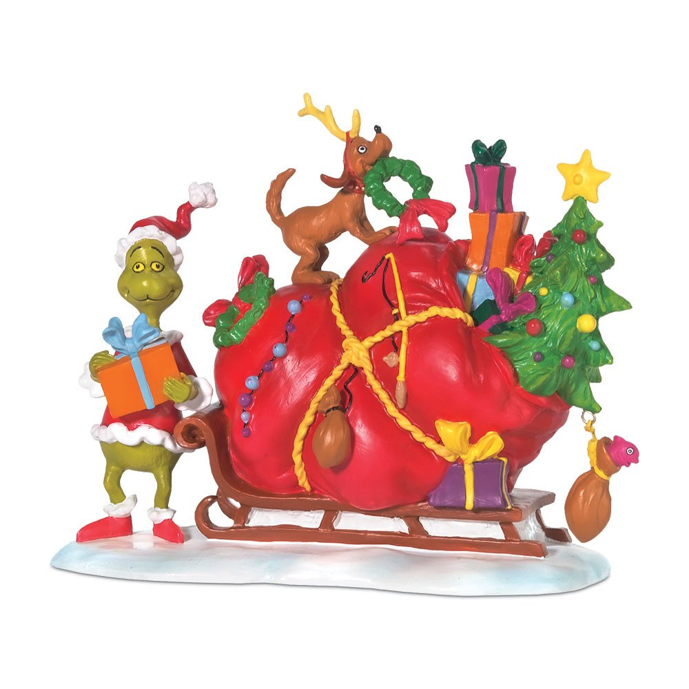 Department 56 Grinch Villages from Department 56 Grinch's Small Heart Grew Village Accessory, 3-3/4-Inch 804158