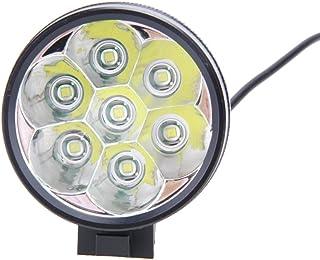 Seawang 7x CREE T6LED 15000lm Eclairage Avant vélo Lampe Frontale + Batterie
