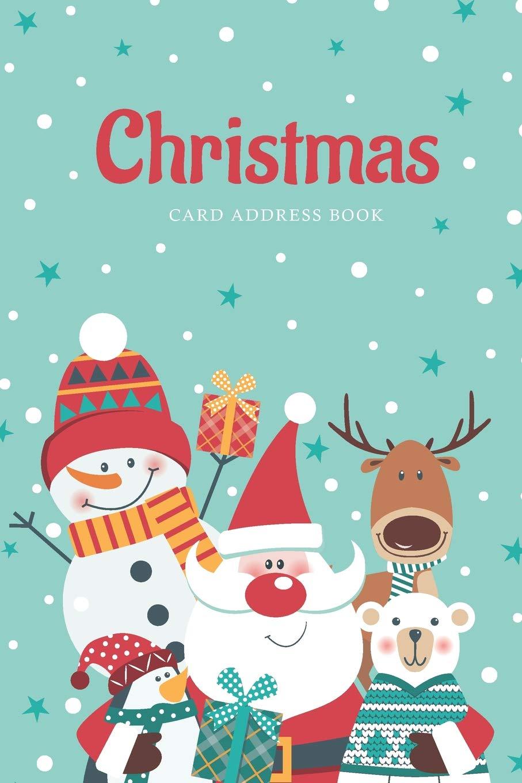 Christmas Card Address Book: A Ten Year Christmas Card List