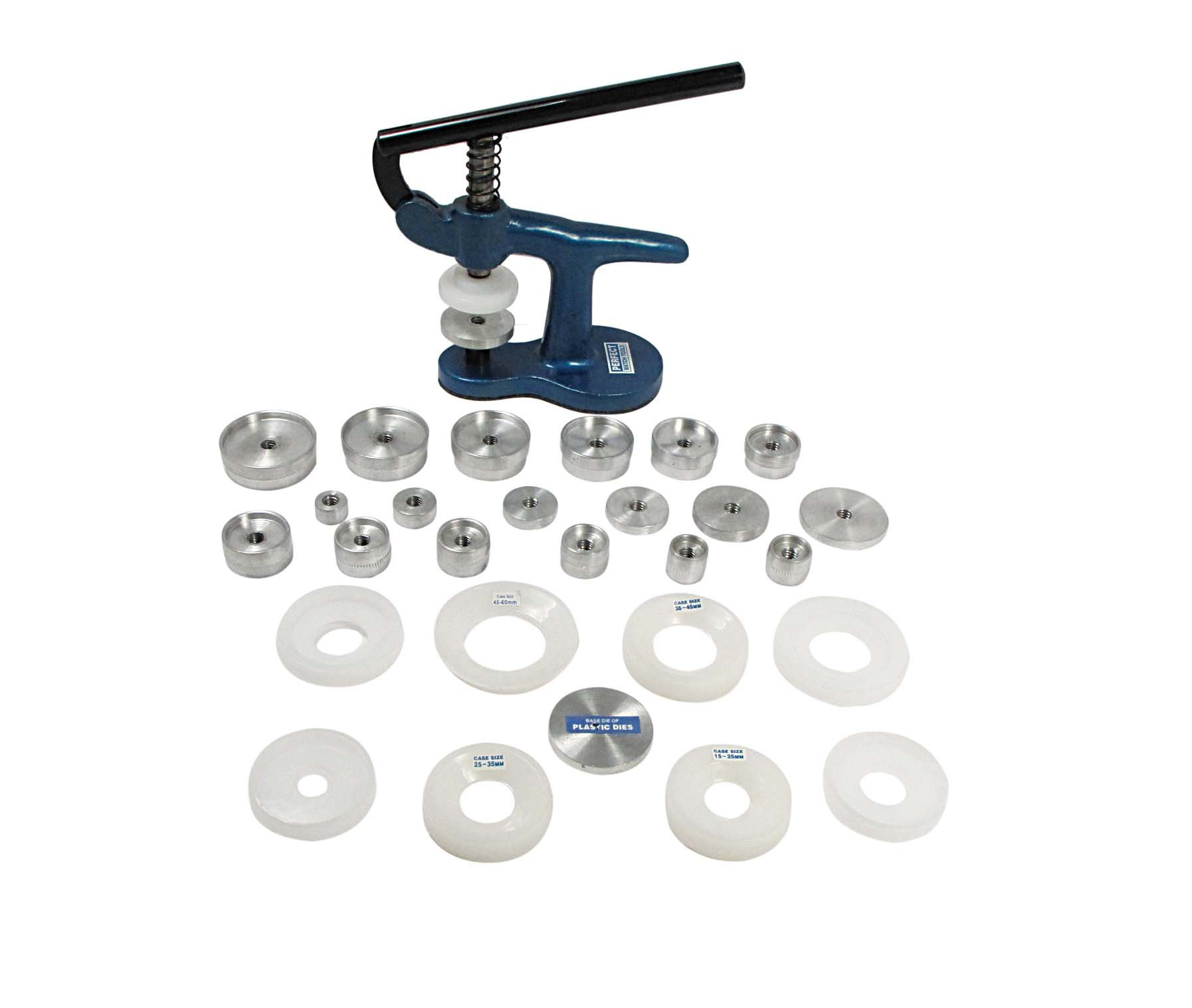 SE JT1228 Watch Glass and Back Fitting Press with 28 Dies