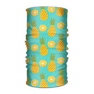 Headband Bandanas Pineapple Slice Versatile Sports Headscarf Neck Gaiter Balaclava Helmet Liner Riding Face Mask for Kids Women Men Outdoors UV Protection