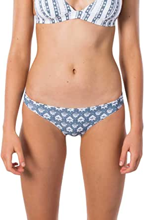 Rip Curl Women's Navy Beach REVO Cheeky PT