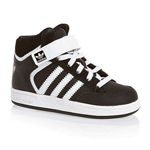 Adidas - Zapatos Botines Adidas Varial Mid I Negro y Blanco c75658 - 214670 Negro Size: 27: Amazon.es: Zapatos y complementos