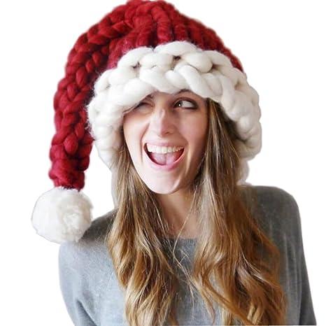Chapeau de noel de enfant   femme   fille joyeux noel chapeau de papa noel  noel e64f720ea75