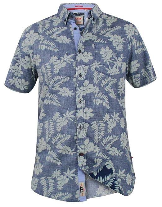 Dukes D555 Mens small print shirt 2XL and 3XL