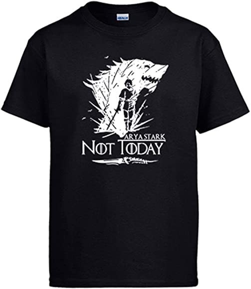 Diver Bebé Camiseta ilustración Frase Arya Stark Not Today The North Remembers
