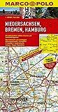 MARCO POLO Karte Niedersachsen, Bremen, Hamburg 1:200.000 (MARCO POLO Karten 1:200.000)