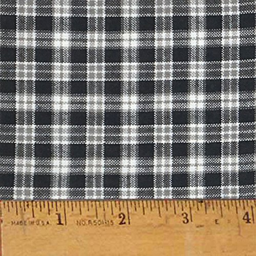 Homespun Cotton Fabric - Mountain Lodge 2 Cotton Homespun Plaid Fabric by JCS - Sold by the Yard