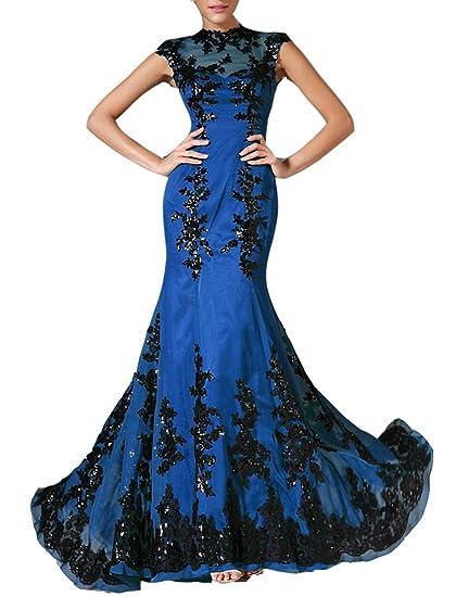Emmani Long Cheap Mermaid Zipper Appliques New Night Plus Size Blue Green Taffeta Prom Party Evening