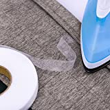 Outus 70 Yards Iron On Hem Tape Fabric Fusing