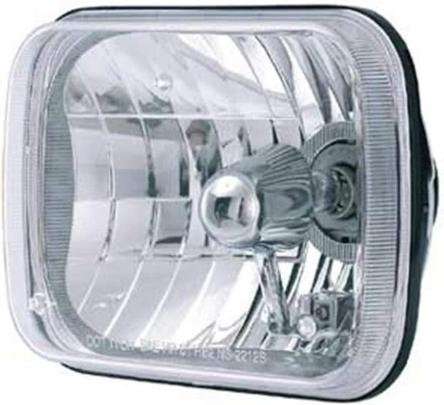 Each Rampage Products 5081128 Universal Clear 165mm Rectangular Halogen Headlight Conversion Kit