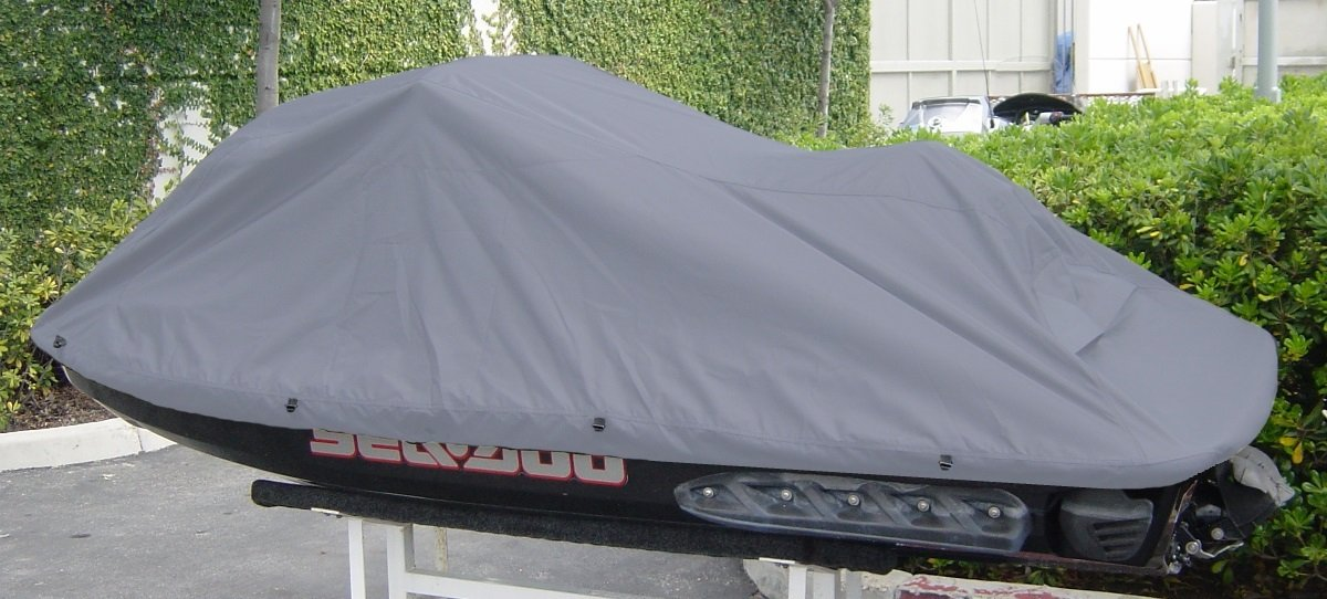 Amazon.com: Jet Ski Personal Watercraft Cover in Charcoal Grey, fits ...