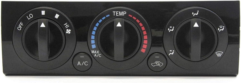 1 Piece of Premium Manual Heater Temperature HVAC Fan Control Knob for 2005-2011 Toyota Tacoma