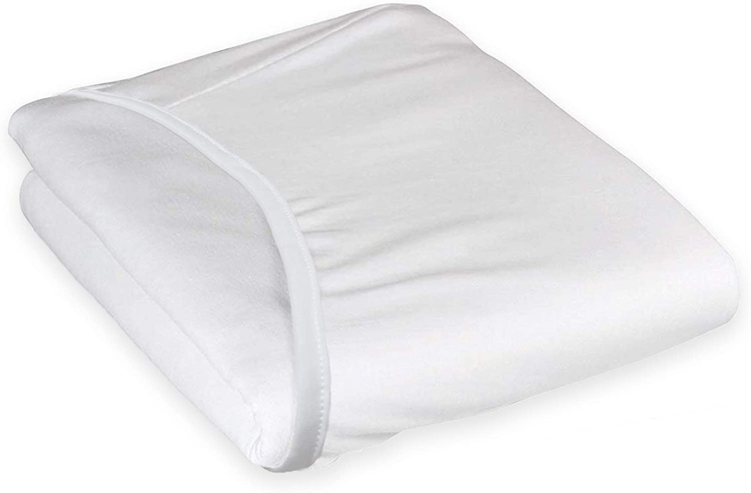 TL Care Health, Fitted Hospital Bed Sheet, 48% Cotton/52% Poly Blend, for Medical or Home Care, 84