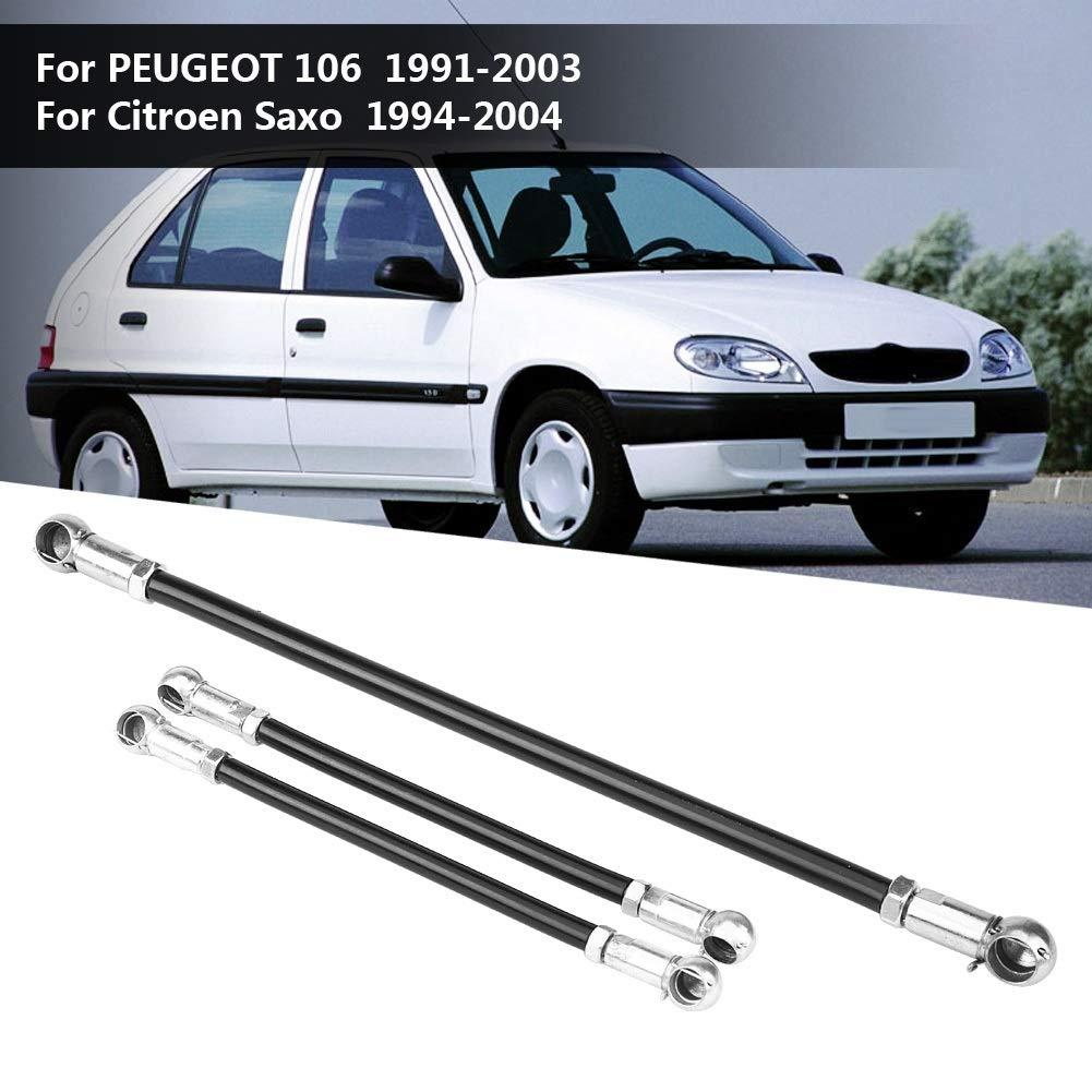Nosii 3Pcs Kit de Varillas de Engranajes para Peugeot 106 91-03 Citroen Saxo 94-04 Todos los Modelos Gear Linkage: Amazon.es: Hogar