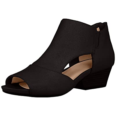 Naturalizer Women's Greyson Ankle Boot, Black, 7.5 W US | Ankle & Bootie