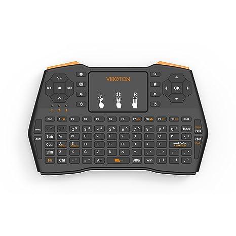 thundeal I8 Plus Teclado 2.4 GHz Mini inalámbrico con Touchpad Aire Mouse Teclado Inglés Versión de