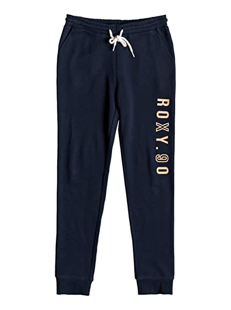 Roxy - Pantalón de Chándal - Chicas 8-16 - Azul: Amazon.es: Ropa y ...