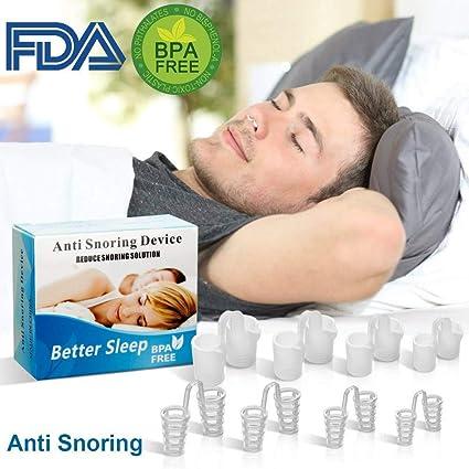 Dispositivos Anti Ronquidos Solucione,no roncar Dilatador Nasal Antirronquidos Nariz Solucion Ayuda para Dormir Apnea