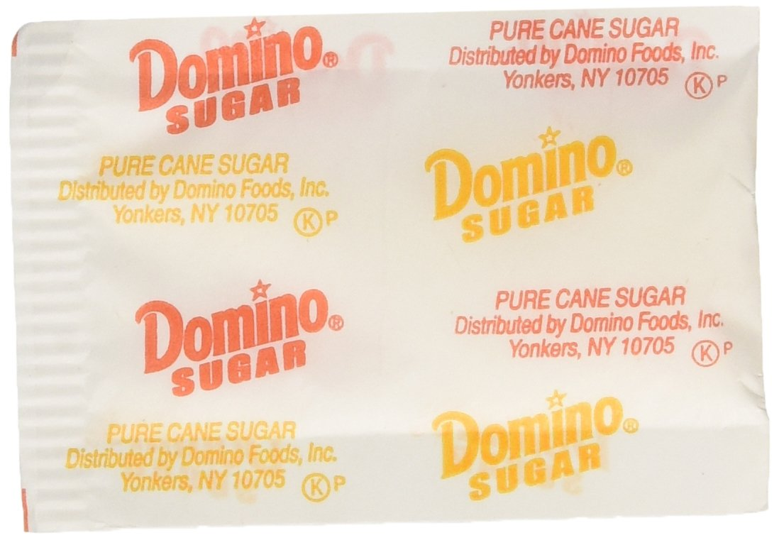 Domino Sugar Packets, 500 count, Restaurant Quality