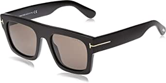 Tom Ford FAUSTO FT 0711 BLACK/SMOKE 53/20/145 unisex Sunglasses