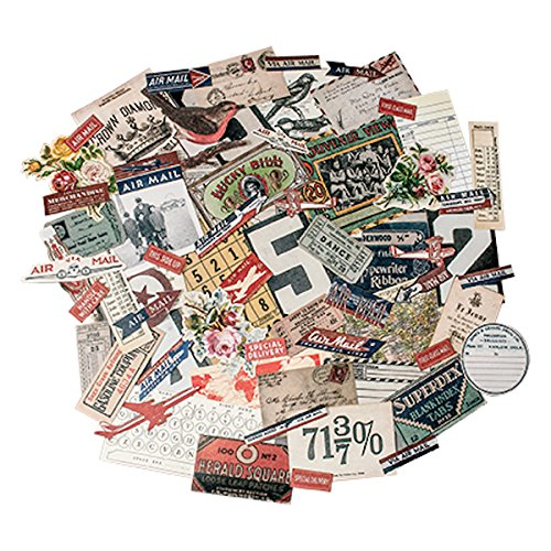 Ephemera Pack by Tim Holtz Idea-ology, Emporium, 70 Pieces, Assorted, TH93189