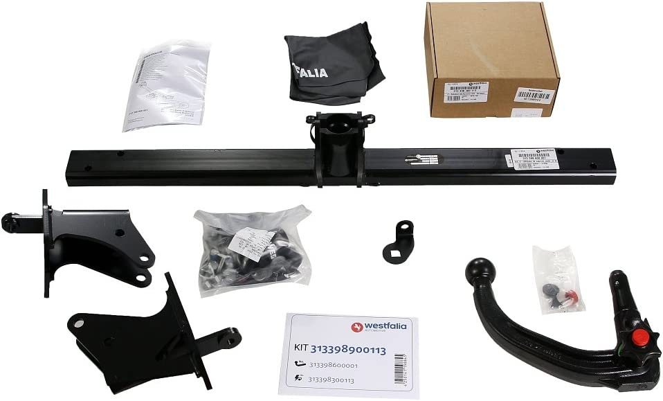 Westfalia 313398900113 Verticle Detachable Towbar