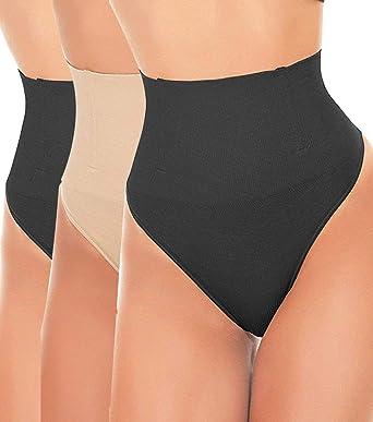 dbff05c89ed9 LANFEI Women Waist Cincher Underwear Tummy Control Thong Shapewear Panties