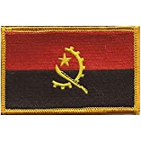 ShowPlus Flag Patch Military Embroidered Tactical Patch (Angola)