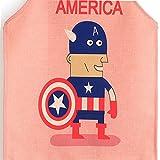Phantomon Kids Apron Captain America Comics Cute