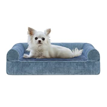 Surprising Furhaven Pet Dog Bed Orthopedic Sofa Style Traditional Living Room Couch Pet Bed W Removable Cover For Dogs Cats Available In Multiple Colors Bralicious Painted Fabric Chair Ideas Braliciousco