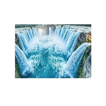 Arichtop River Stone Wand Aufkleber 3d Cobble Wasserdichtes